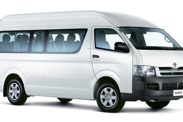 toyota commuter for hire